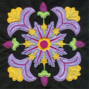 fantasy applique machine embroidery collection pes