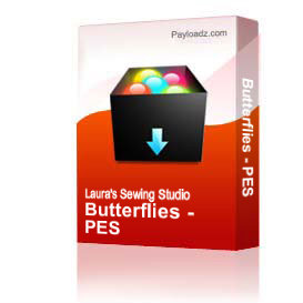 Butterflies Collection PES | Other Files | Arts and Crafts
