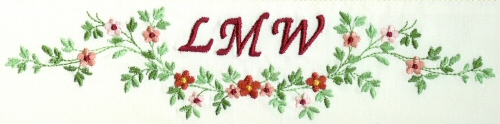First Additional product image for - Monogram Potpourri 6X10 Collection
