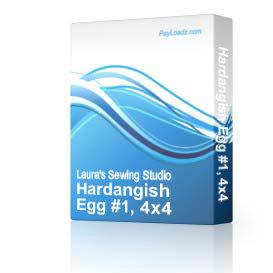 Hardangish Egg #1, 4x4 | Software | Design