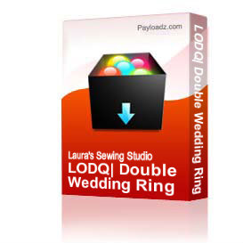 LODQ: Double Wedding Ring 6x6 - DST | Other Files | Arts and Crafts