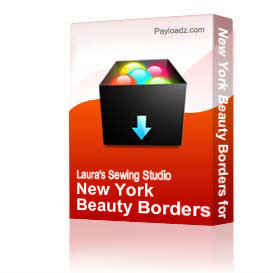 New York Beauty Borders for the 4x4 Hoop, PES   Other Files   Arts and Crafts