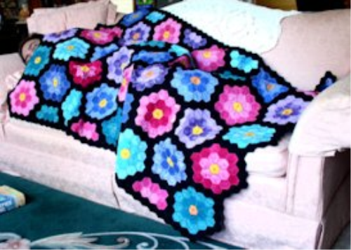 First Additional product image for - Grandmother's Flower Garden by Laura, XXX