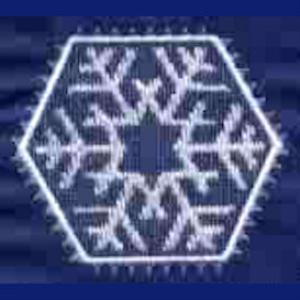 laura's sewing studio snowflakes