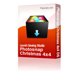 Photosnap Christmas 4x4 DST | Other Files | Arts and Crafts