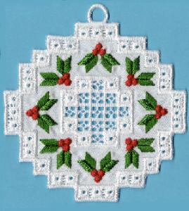 Hardangish Wreath 1 HUS | Crafting | Embroidery