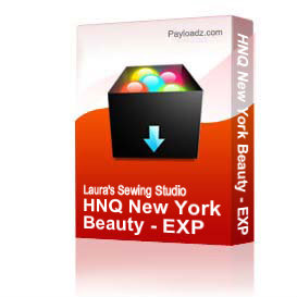 HNQ New York Beauty - EXP | Crafting | Embroidery