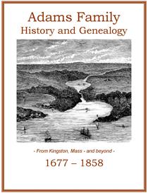 Adams Family History and Genealogy | eBooks | History