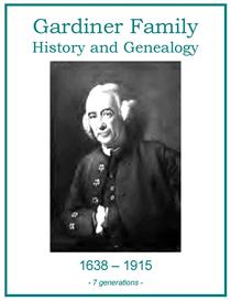 Gardiner Family History and Genealogy | eBooks | History