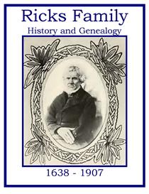 Ricks Family History and Genealogy | eBooks | History