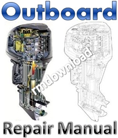 honda 2-130hp 1986-2002  outboard repair manual