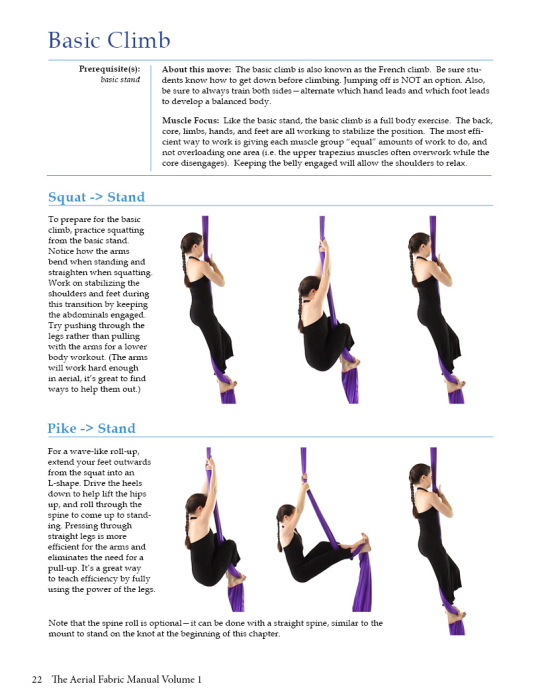 Second Additional product image for - The Aerial Fabric Manual Volume 1
