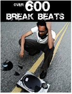 over 600 break beats