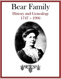 Bear Family History and Genealogy | eBooks | History