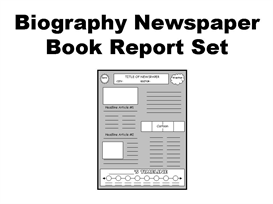 biography book report newspaper