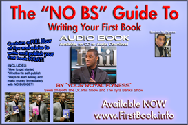 the no bs guide to writing your first book