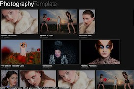 Album Grid Template | Software | Software Templates