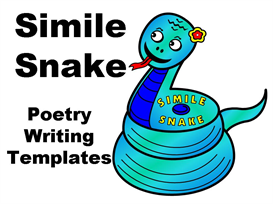 simile snake poetry lesson plans