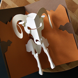 Aries/Ram - EasyCutPopup | eBooks | Arts and Crafts