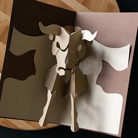 taurus/bull - easycutpopup