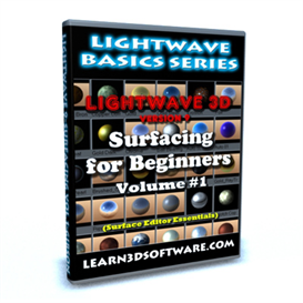 lightwave 9 surfacing volume #1