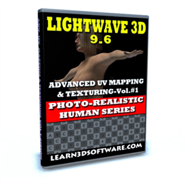 lightwave 9.6 advanced uv mapping & texturing-photo realistic human series vol.1