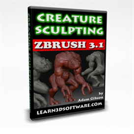 zBrush 3.1 Creature Sculpting | Movies and Videos | Educational