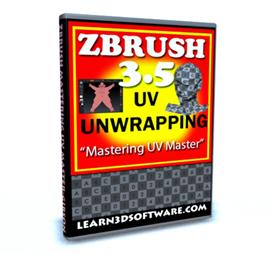 zbrush 3.5 -uv unwrapping-mastering uv master