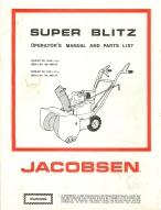 jacobsen super blitz snow blower operator s manual other files rh store payloadz com jacobsen imperial 826 snowblower manual jacobsen 320 snowblower manual