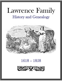 Lawrence Family History and Genealogy | eBooks | History