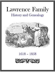 Lawrence Family History and Genealogy | eBooks | History