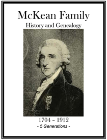 McKean Family History and Genealogy | eBooks | History