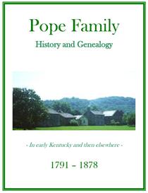 Pope Family History and Genealogy | eBooks | History