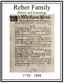 reber family history and genealogy