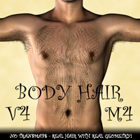 Body Hair for V4 and M4 | Software | Design