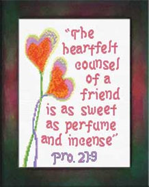 heartfelt - proverbs 27:9
