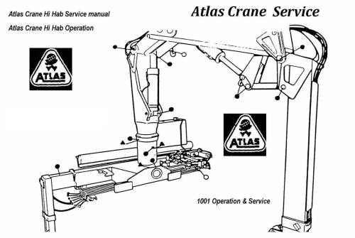 First Additional product image for - Atlas 100.0 crane service manual