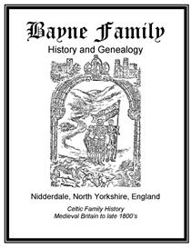Bayne Family History and Genealogy | eBooks | History
