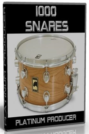 1000 professional snare drum wave samples