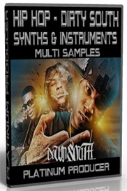 hip hop - dirty south synths & instruments multi samples