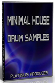 minimal house producer drum pack