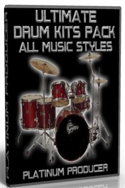 ultimate drum kits sample pack for all music styles