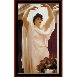 invocation - leighton cross stitch pattern by cross stitch collectibles