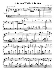 A Dream Within A Dream Sheet Music | Music | Instrumental