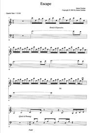 Escape Sheet Music | Music | Instrumental