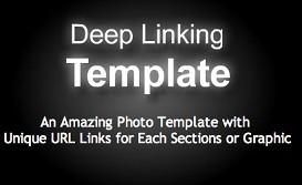 Deep Linking Template | Software | Design Templates