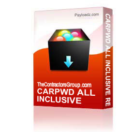 carpwd all inclusive release forms package - win - doc