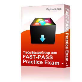 fast-pass practice exam - c-20 hvac contractor