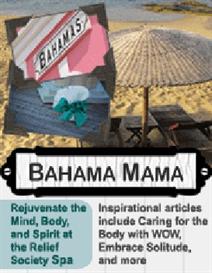 bahama mama: relief society spa activity