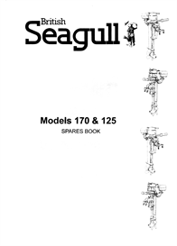seagull 170 and 125 parts manual